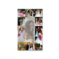 Personalised Poem and Photo Canvas